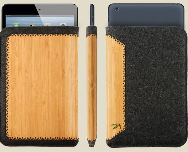 Grove Wool Felt Sleeve Styled iPad Mini Case