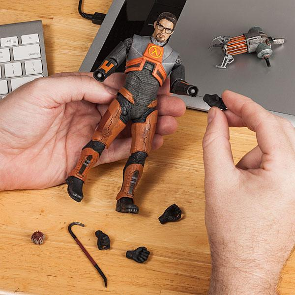 Half Life Gordon Freeman Action Figure