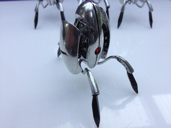 Handmade Pewter Metal Portal Turret