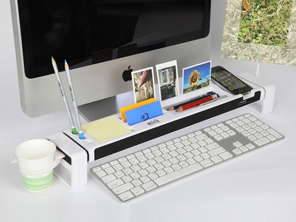 iStick Desk Organizer with USB Hub and Card Reader