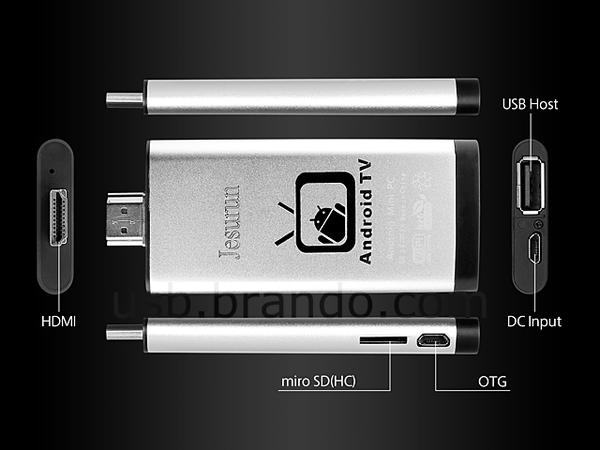 Jesurun Dual-Core Mini PC with Android 4.1