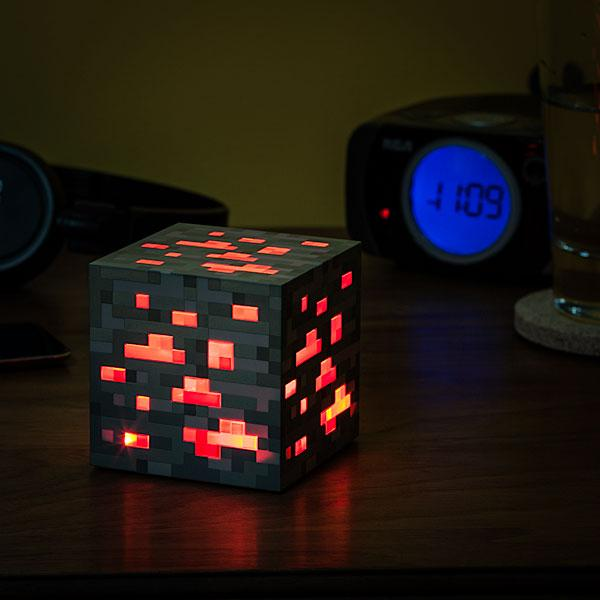 Minecraft Redstone Ore Night Light