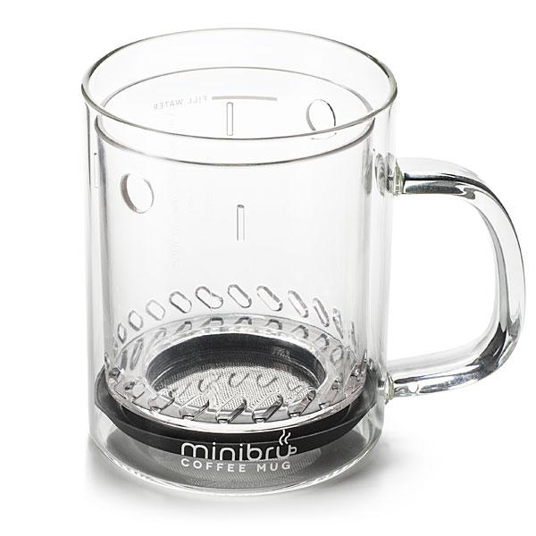 Minibru Coffee Mug for French Press Coffee