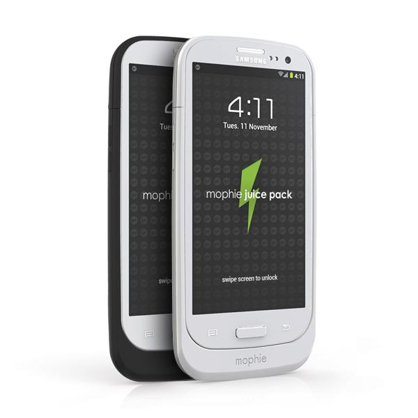Mophie Juice Pack Samsung Galaxy S3 Case with Backup Battery