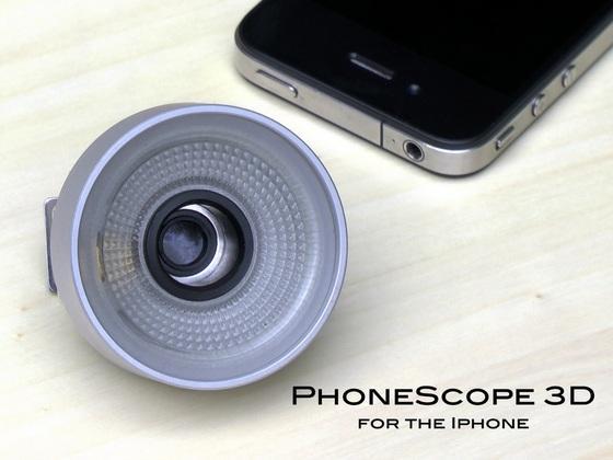 PhoneScope 3D iPhone Lens Set