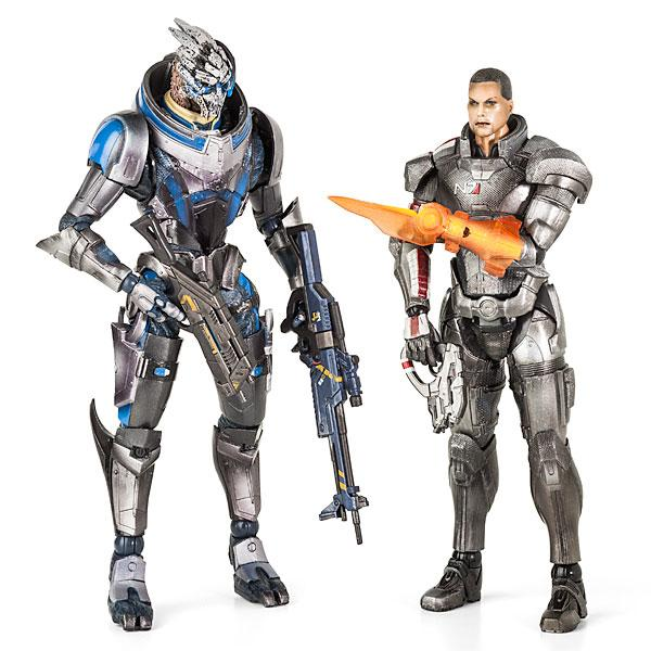 Play Arts Kai Deluxe Mass Effect Action Figures
