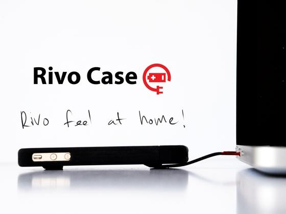 Rivo iPhone 5 Case with Integrated Charging Cable