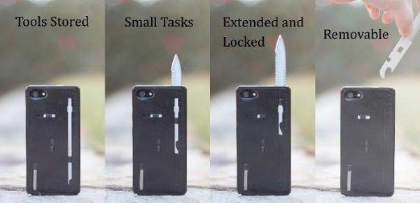 TaskOne Multi-Tool iPhone 5 Case