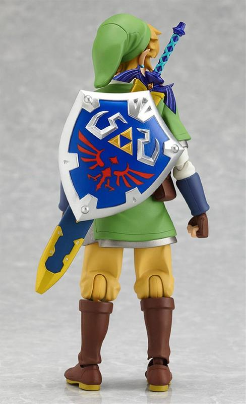 The Legend of Zelda Skyward Sword Link Figma Action Figure