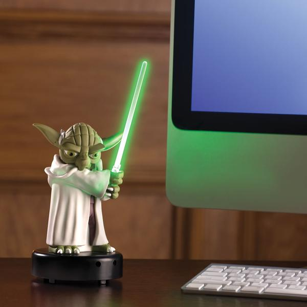 The Motion Activated Talking Master Yoda Figure