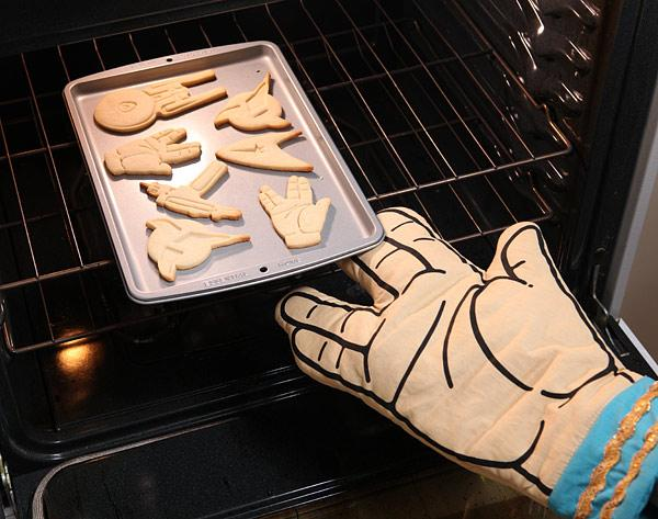 The Star Trek Spock Oven Mitt
