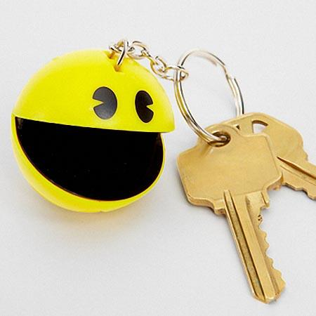 The Talking Pac-Man Keychain