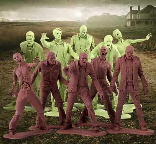 The Walking Dead Zombies Army Men