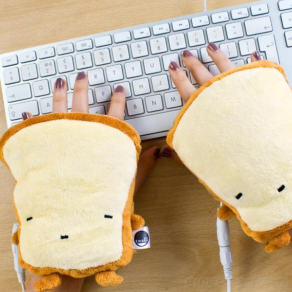 Toast Inspired USB Hand Warmers