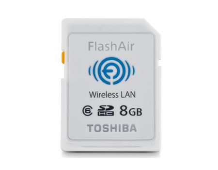 Toshiba FlashAir SDHC Memory Card with Wireless LAN