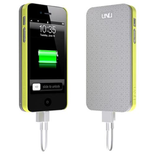 uNu Ecopak iPhone 5 Case with Detachable Backup Battery
