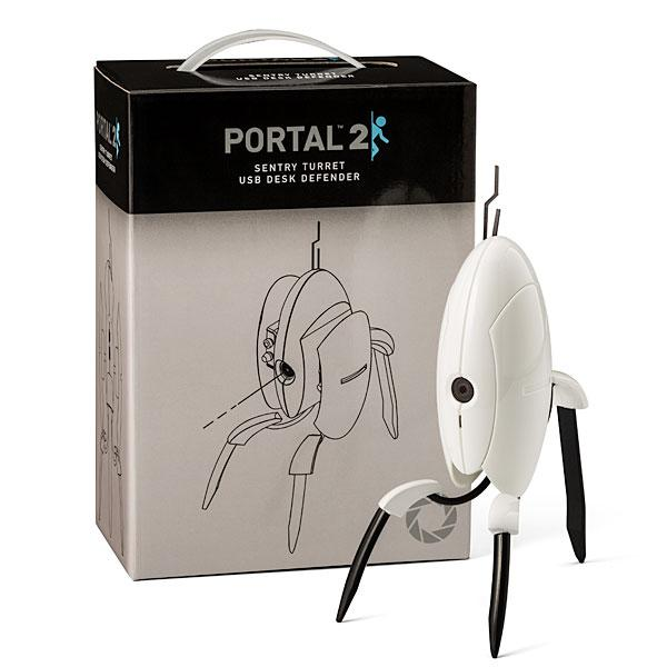 USB Portal 2 Sentry Turret Desk Defender