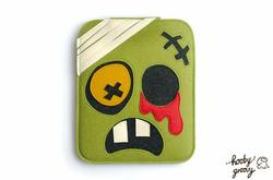 Handmade Zombie Themed iPad Case