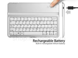 The iPad Mini Case with Bluetooth Keyboard