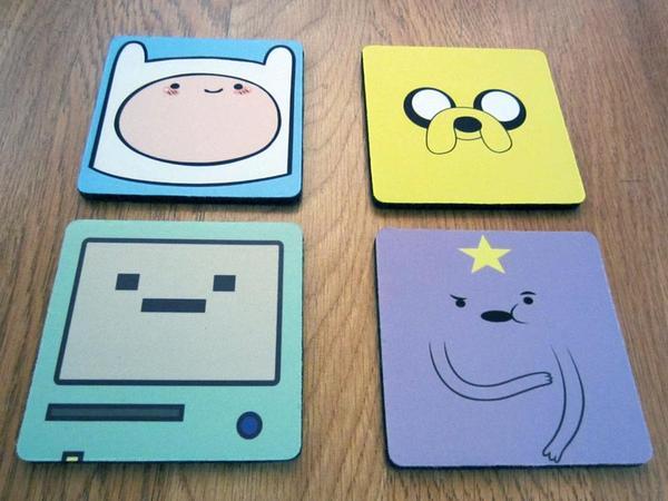 Adventure Time Drink Coaster Set