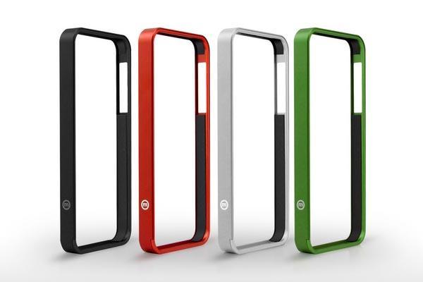 AL13 aluminum iPhone 5 bumper
