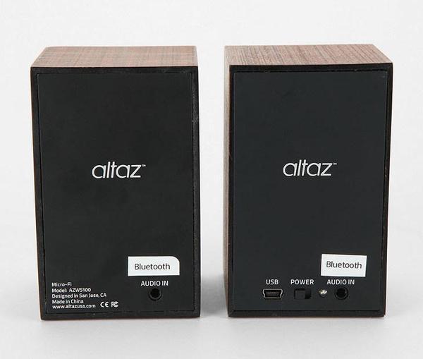 Altaz Wireless Stereo Speaker System