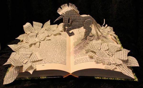 Awesome Handmade Book Sculptures Gadgetsin