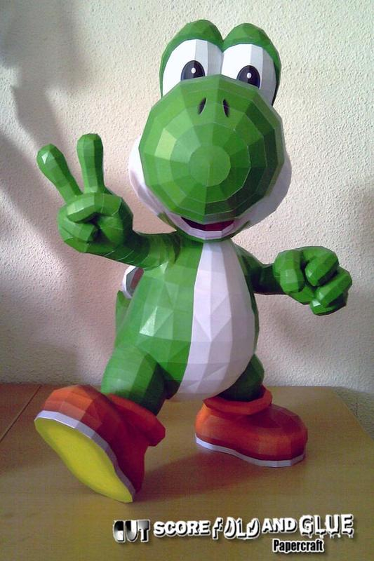 Awesome Paper Crafts Based on Game Characters