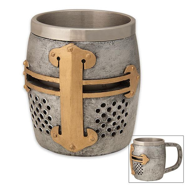 Crusader Helm Coffee Mug