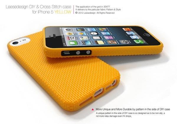 reputable site 467ec b2bd4 DIY & Cross Stitch iPhone 5 Case | Gadgetsin