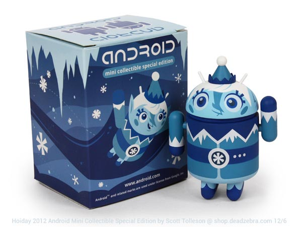 Frankie Frost 2012 Holiday Special Edition Android Mini Figure