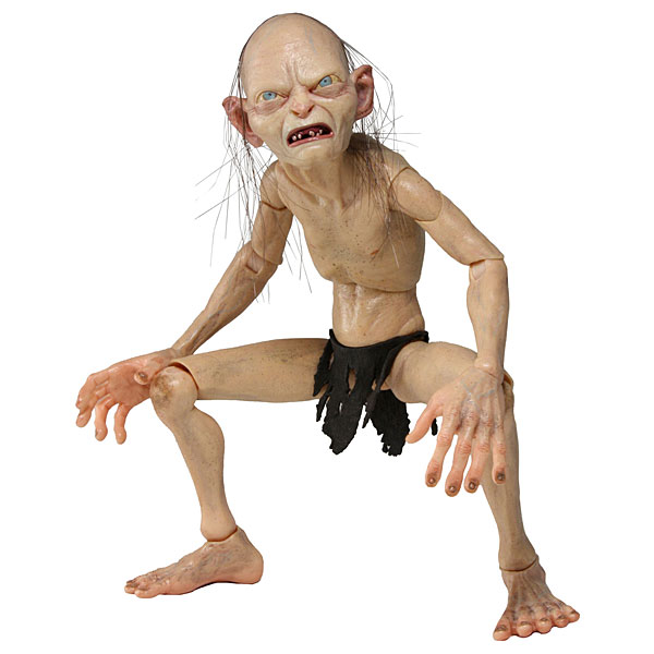 Gollum &amp; Smeagol Action Figures
