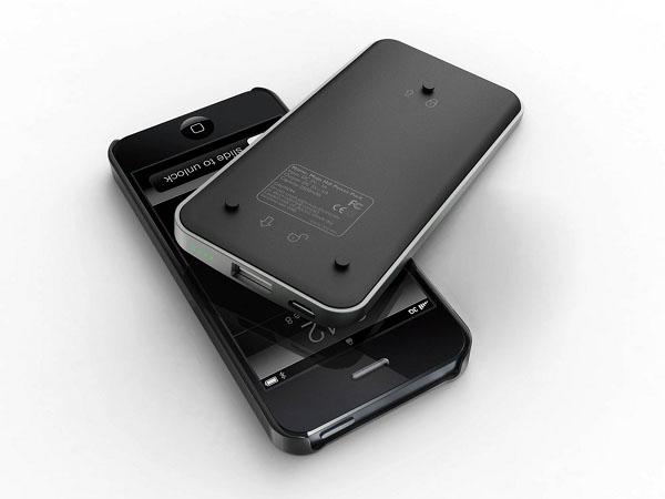 iBattz Mojo Hi5 iPhone 5 Case with Backup Battery
