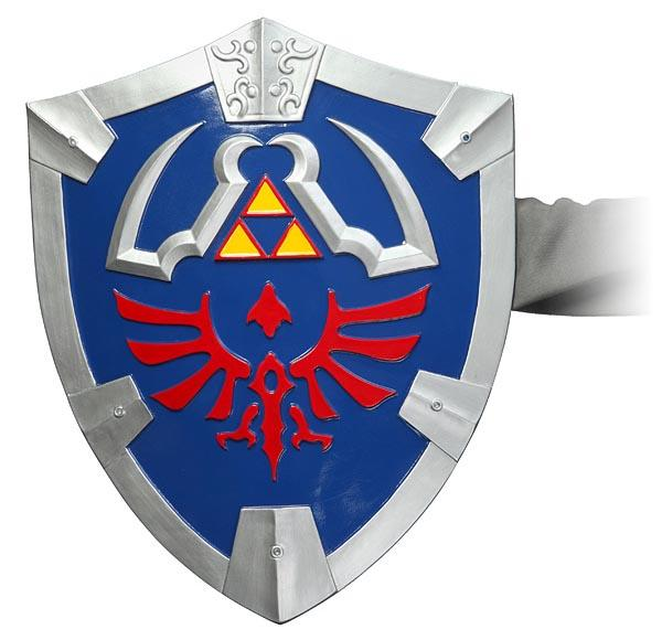 Legend of Zelda Master Sword and Hylian Shield Replicas