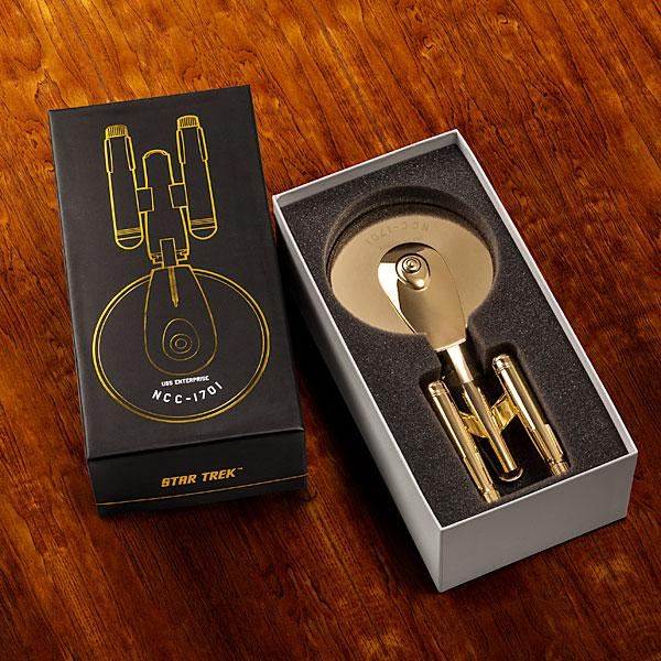 Limited Edition Star Trek Golden Pizza Cutter
