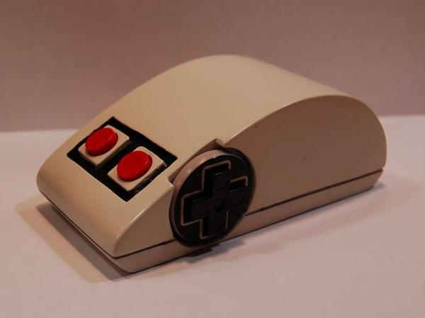 NES Controller Styled Wireless Mouse
