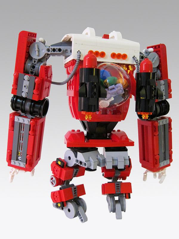 Santa Claus and His New LEGO Mecha
