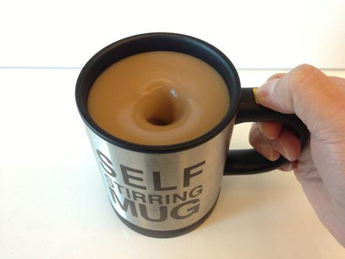 Stainless Steel Self Stirring Coffee Mug