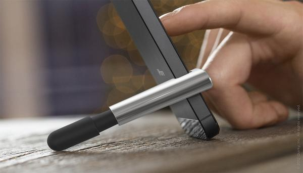 Stilt Stylus with iPhone Stand