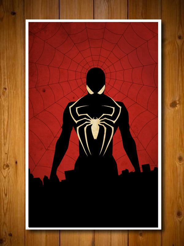 Superhero Inspired Poster Set