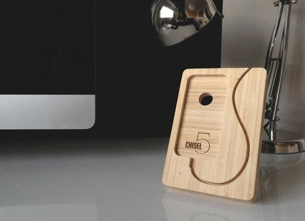 The Chisel Docking Station for iPhone 5