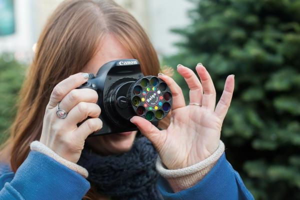 The DSLR Lens Wheel of Filters