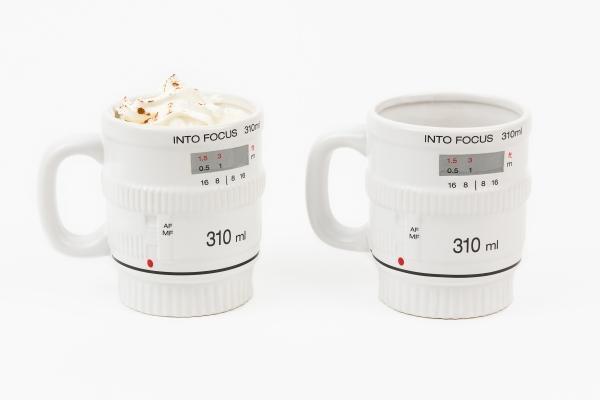 The Get Into Focus Lens Coffee Mug