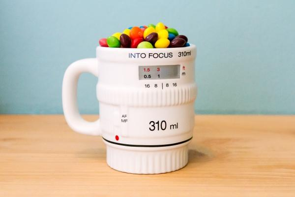 The Get Into Focus Lens Coffee Mug