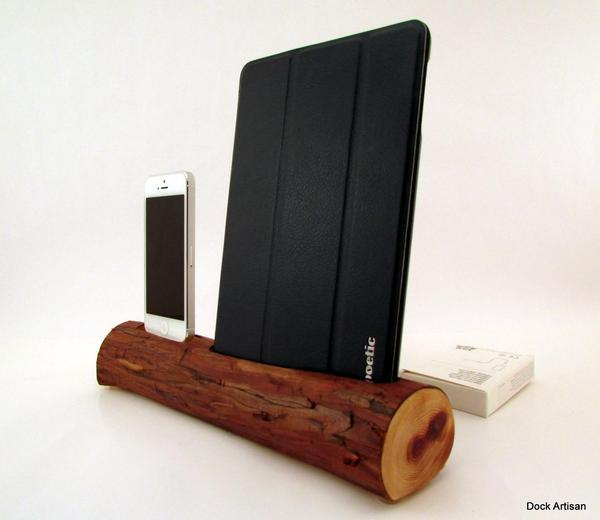 The Handmade Docking Station for iPhone 5 and iPad Mini