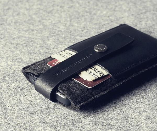 The Handmade Leather iPhone 5 Wallet