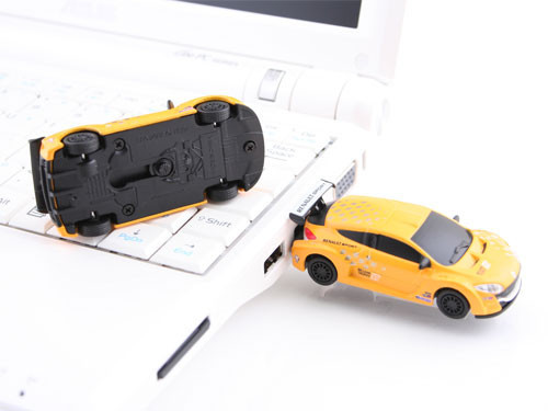 The Super Racing Car USB Flash Drive