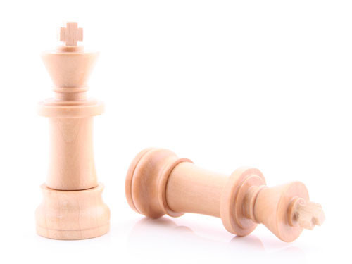 White King Chess USB Flash Drive