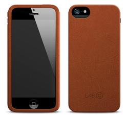 LAB.C Leather Slim iPhone 5 Case