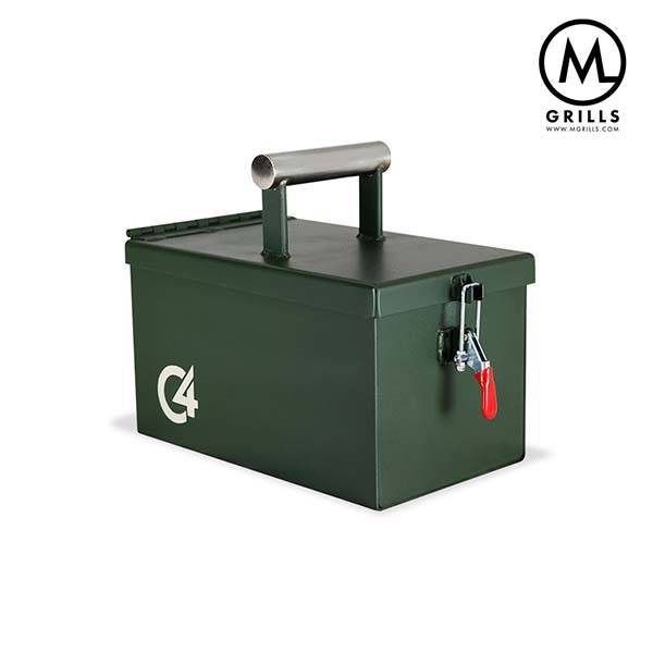 C4 Ammo Box Shaped Portable BBQ Grill